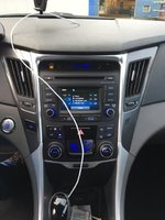 Picture of 2014 Hyundai Sonata Hybrid Base, interior
