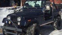 1983 Jeep CJ7 Picture Gallery