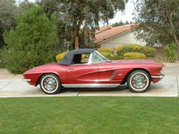 1962 Chevrolet Corvette Convertible Roadster, 1962 Corvette, exterior