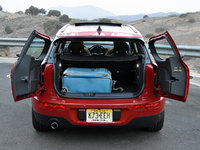 2016 MINI Cooper Clubman Base, 2016 Mini Clubman cargo area and trunk, interior