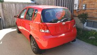 2004 Chevrolet Aveo Base Hatchback, Window decal can be removed, exterior