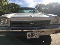 1973 Chevrolet El Camino, front grill, exterior