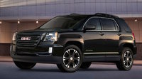 2017 GMC Terrain, Front-quarter view. Copyright General Motors., exterior, manufacturer