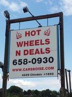 Hot Wheels N Deals logo