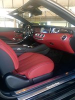 Picture of 2017 Mercedes-Benz S-Class Coupe S 550 Cabriolet, interior