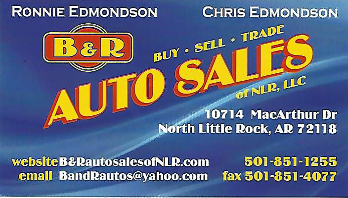 B U0026 R Auto Sales   North Little Rock, AR: Read Consumer Reviews, Browse  Used And New Cars For Sale