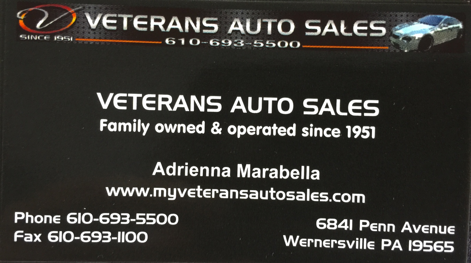Veterans Auto Sales - Wernersville, PA: Read Consumer reviews ...