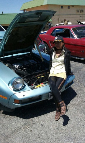 Picture of 1982 Porsche 928 STD Hatchback, engine