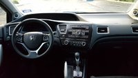 Picture of 2013 Honda Civic Coupe LX, interior