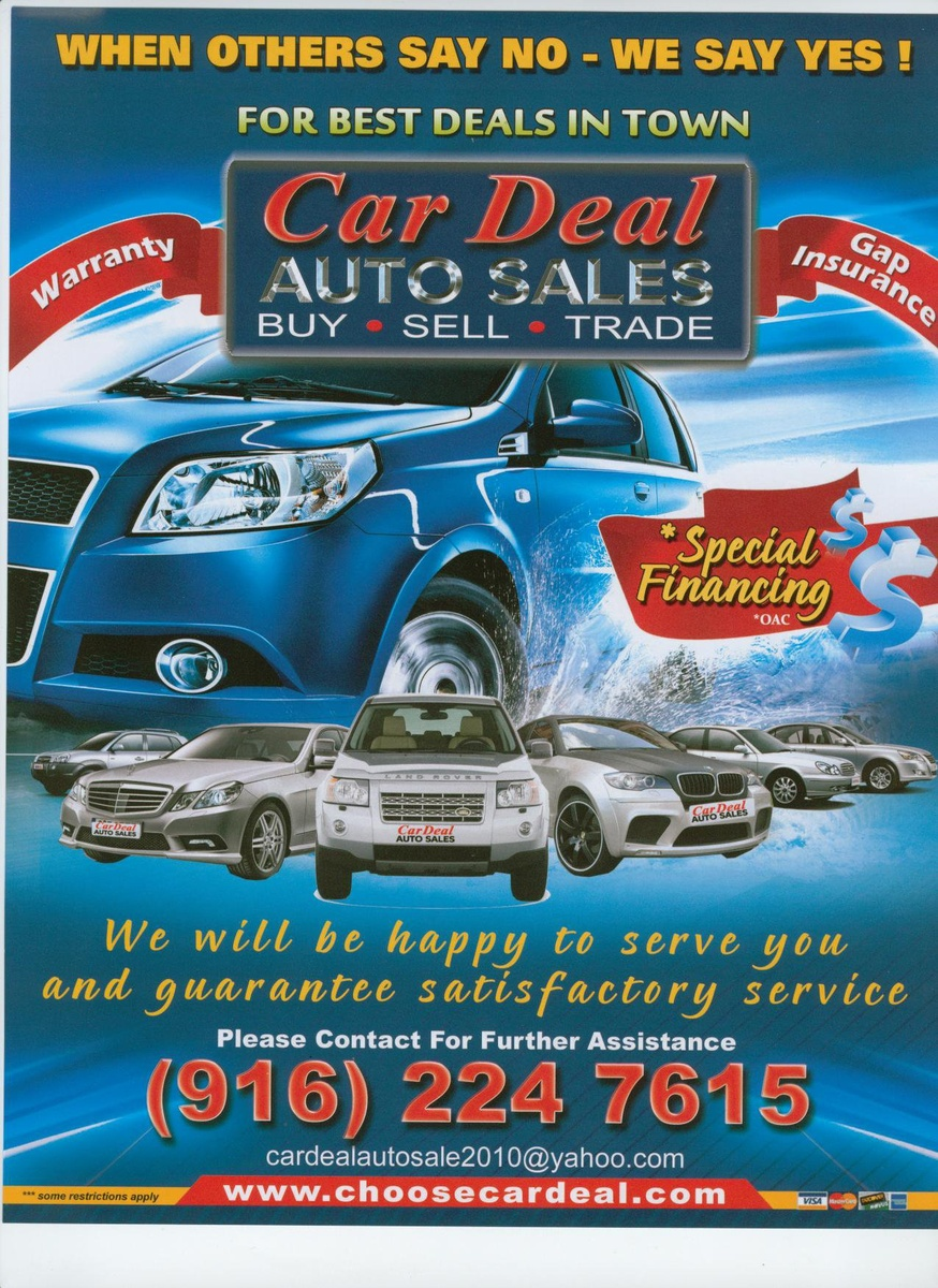 car deal auto sales sacramento ca read consumer reviews browse used and new cars for sale. Black Bedroom Furniture Sets. Home Design Ideas