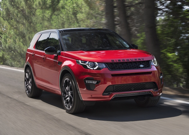 2017 Land Rover Discovery Sport, Front-quarter view., exterior, manufacturer