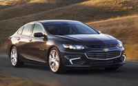 2017 Chevrolet Malibu, Front-quarter view. Copyright General Motors, exterior, manufacturer