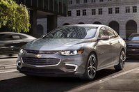 2017 Chevrolet Malibu Hybrid, Front-quarter view. Copyright General Motors, exterior, manufacturer