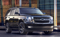 2017 Chevrolet Tahoe, Front-quarter view. Copyright General Motors, exterior, manufacturer