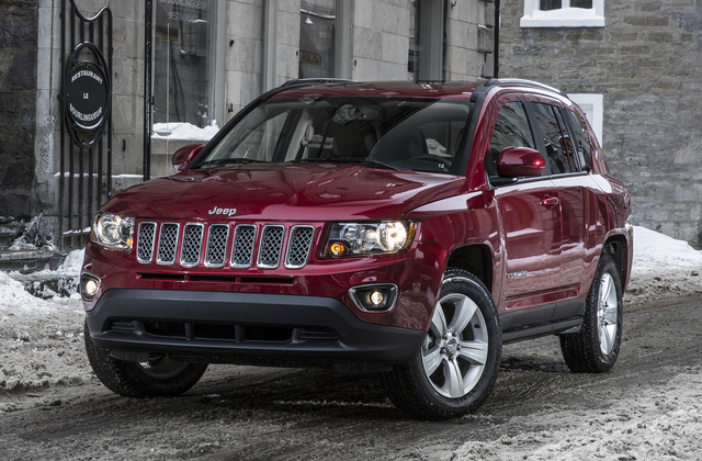 2017 Jeep Compass, Front-quarter view., exterior, manufacturer