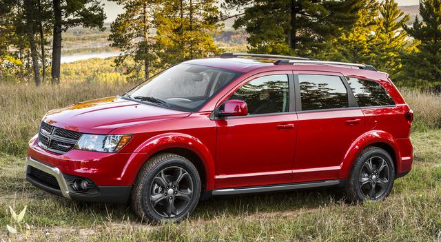 2017 Dodge Grand Caravan, Front-quarter view., exterior, manufacturer