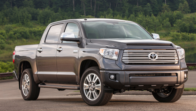 2017 Toyota Tundra, Front-quarter view., exterior, manufacturer