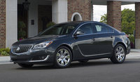 2017 Buick Regal, Front-quarter view. Copyright General Motors., exterior, manufacturer