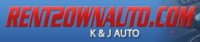 K & J Rent To Own logo