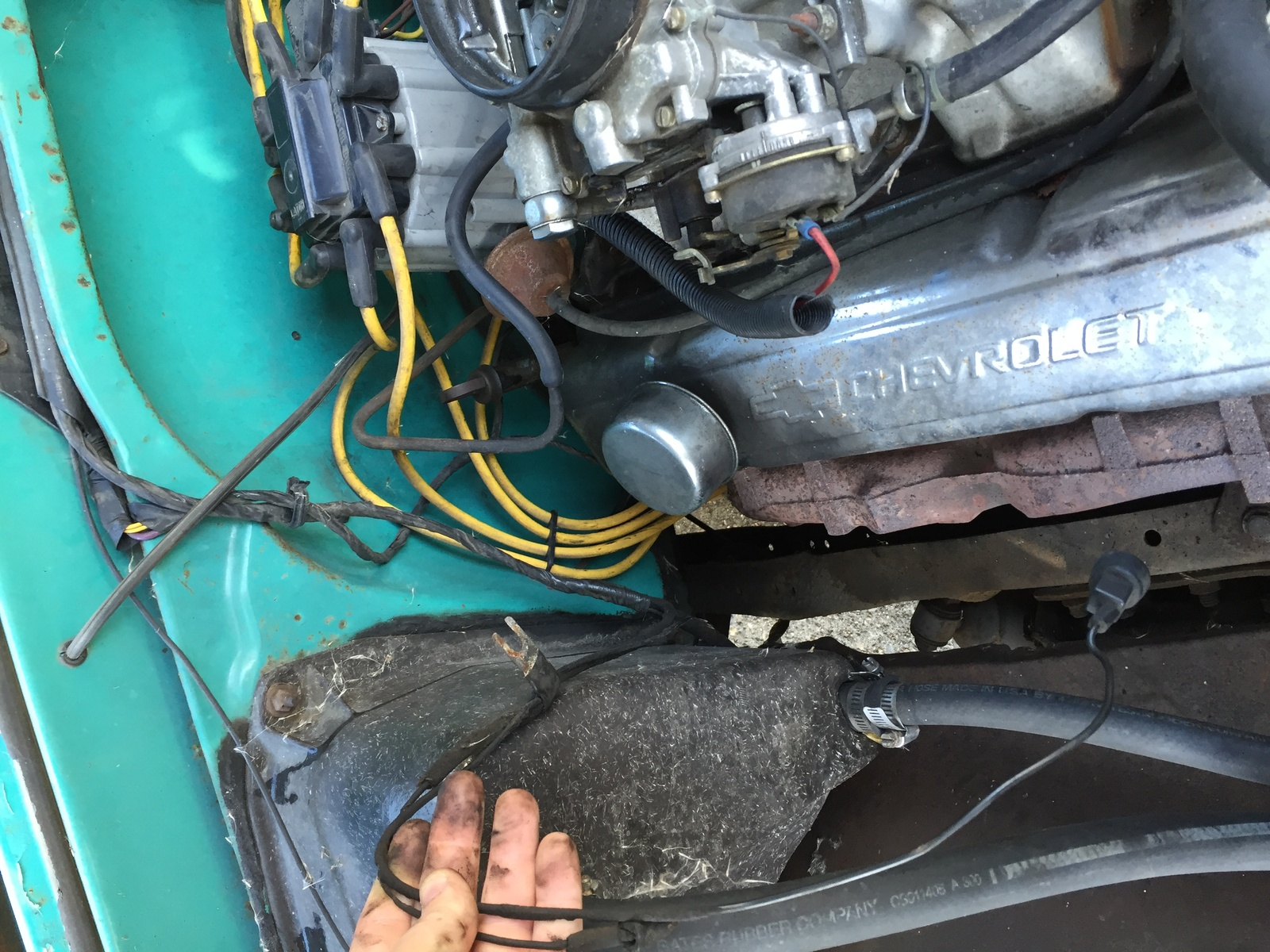 Chevrolet C/K 10 Questions - I have a loose wire in my engine bay ...