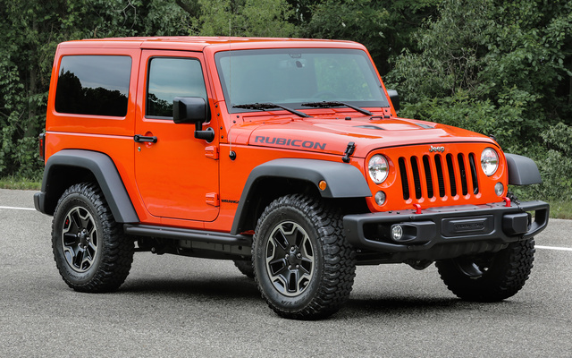 2017 Jeep Wrangler, Front-quarter view., exterior, manufacturer, gallery_worthy