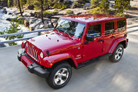 2017 Jeep Wrangler Unlimited, Front-quarter view., exterior, manufacturer, gallery_worthy