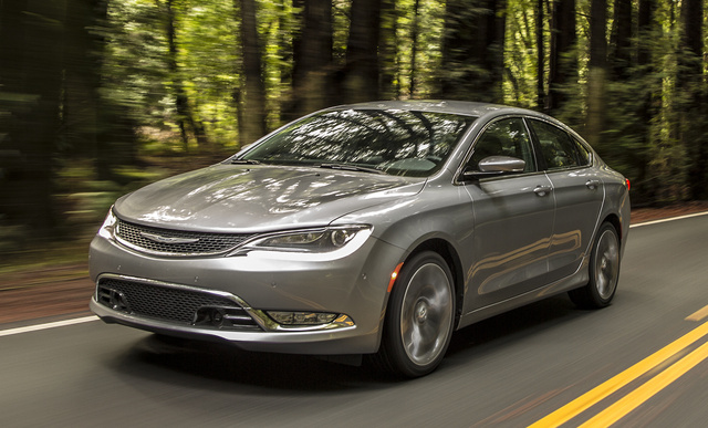 2017 Chrysler 200, Front-quarter view., exterior, manufacturer