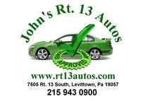 John's Rt 13 Auto Sales logo