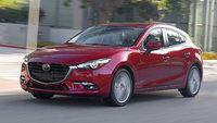 2017 Mazda MAZDA3, Front-quarter view., exterior, manufacturer