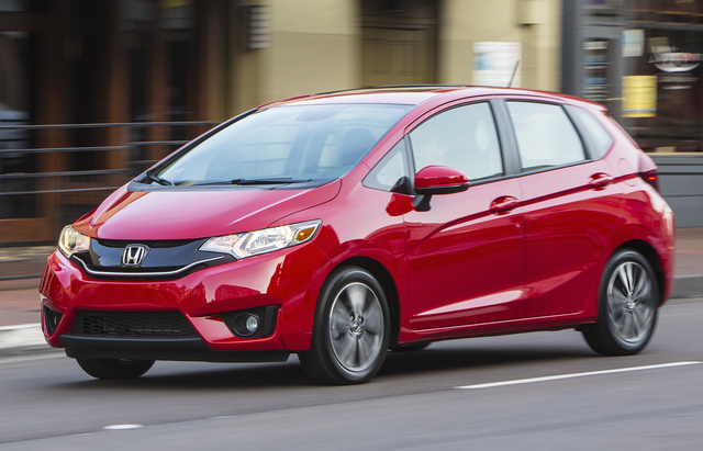 2017 Honda Fit, Front-quarter view, exterior, manufacturer