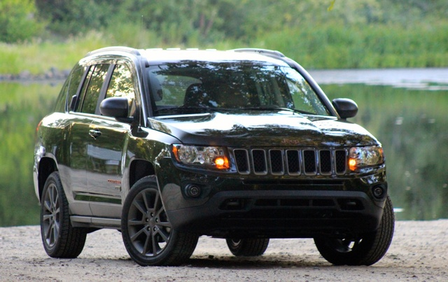 Exterior of the 2016 Jeep Compass