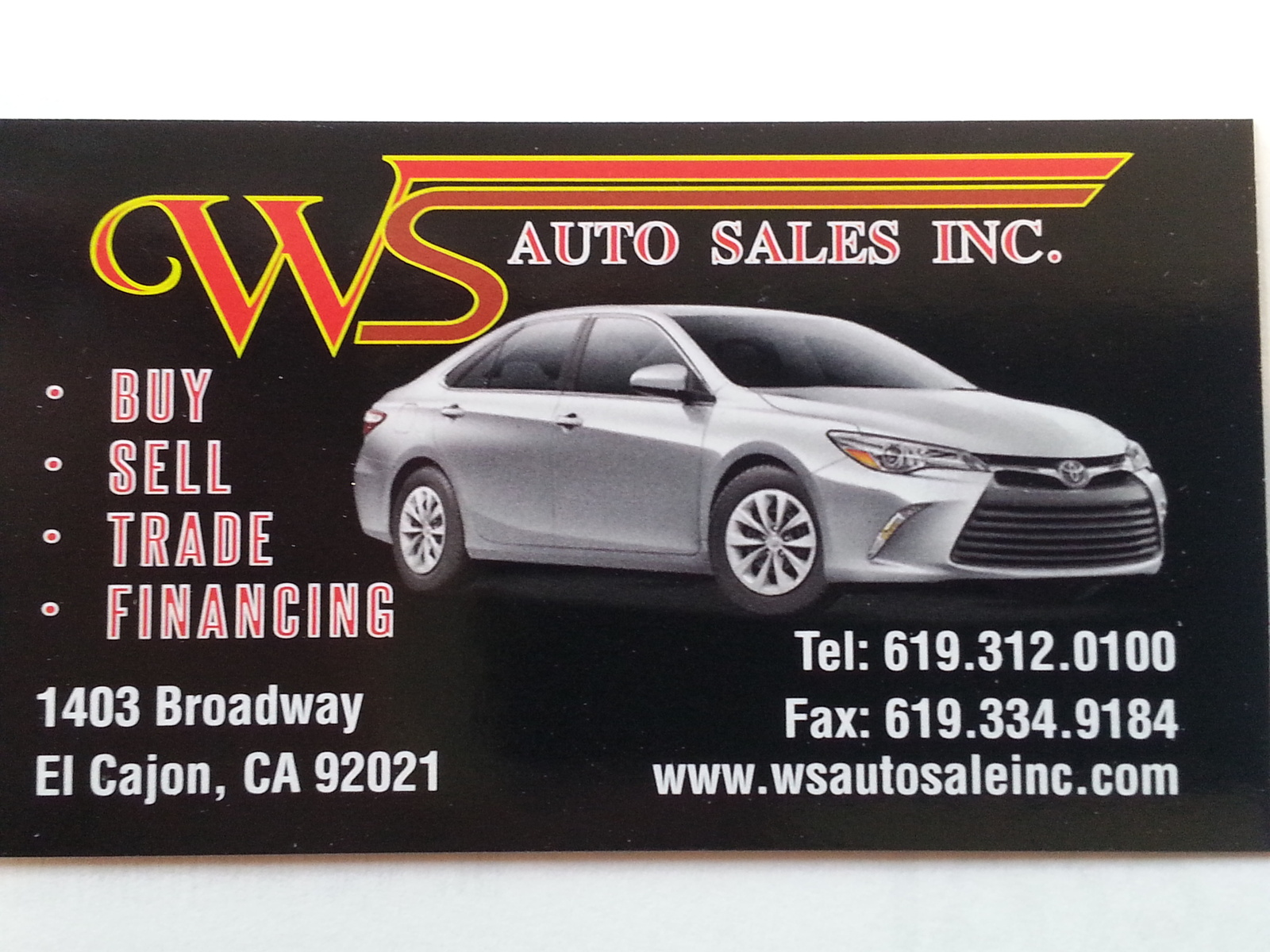 Attractive WS Auto Sales   El Cajon, CA: Read Consumer Reviews, Browse Used And New  Cars For Sale