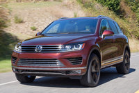 2017 Volkswagen Touareg, Front-quarter view., exterior, manufacturer, gallery_worthy