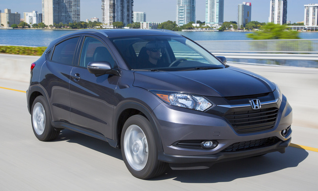 2017 Honda HR-V, Front-quarter view., exterior, manufacturer, gallery_worthy