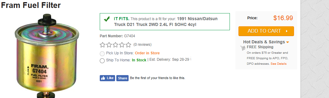 Nissan Pickup Questions - WHERE IS THE FUEL FILTER ON A 1991 ... on