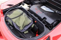 Engine and trunk of the 2016 Alfa Romeo 4C Spider, engine