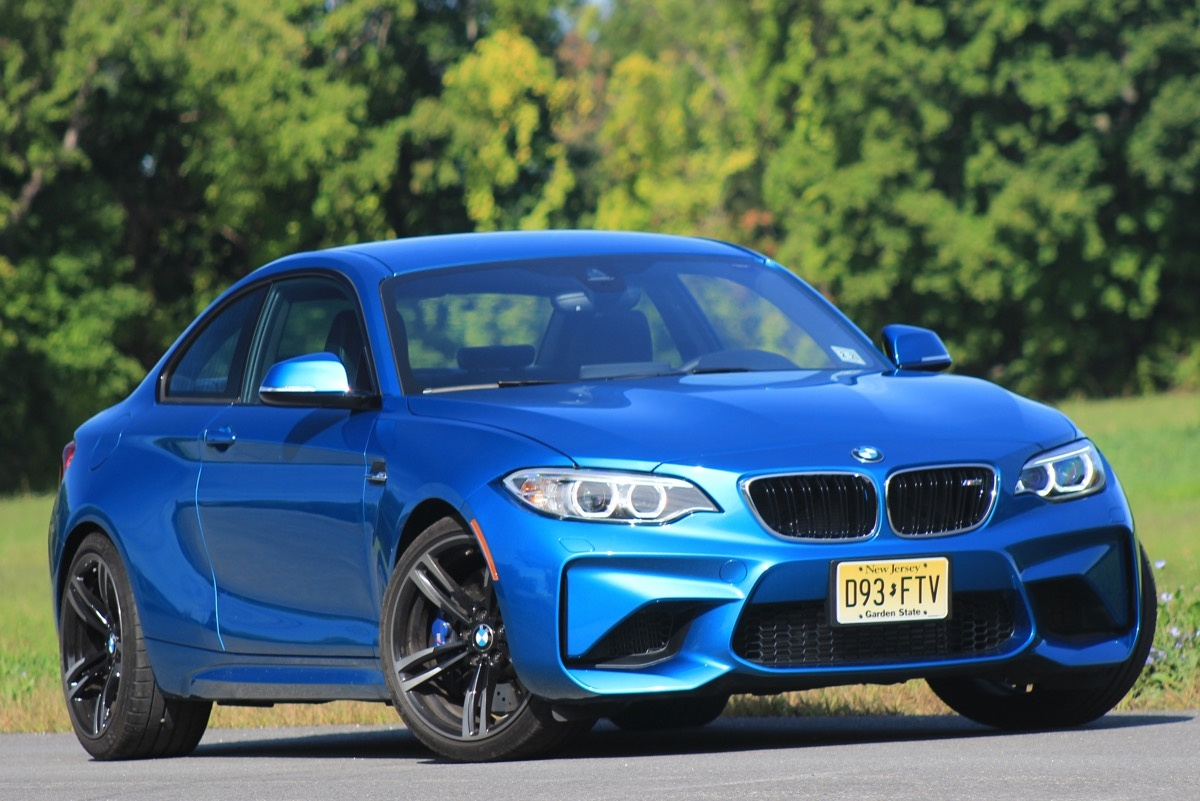 Exterior of the 2016 BMW M2