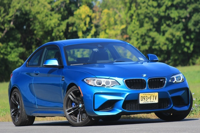 Exterior of the 2016 BMW M2, exterior