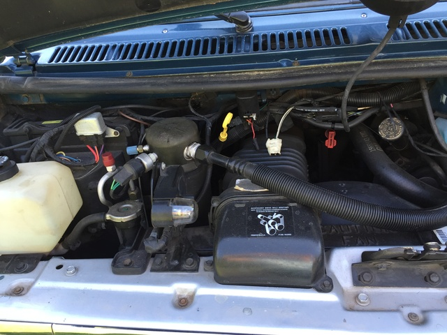 Picture of 1992 Chevrolet Sportvan 3 Dr G10 Beauville Passenger Van Extended, engine