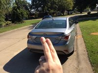 Picture of 2015 Hyundai Sonata Hybrid Limited, exterior