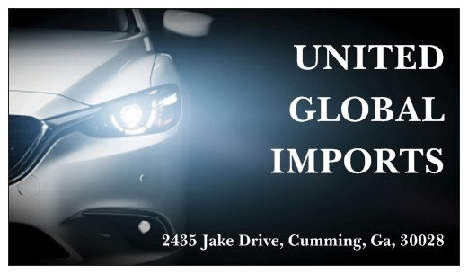 United Global Imports Llc Cumming Ga Read Consumer