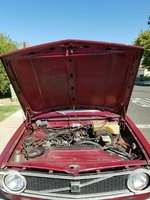 Picture of 1974 Volvo 240, engine