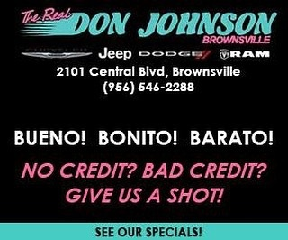 Don johnson motors incorporated brownsville tx read for Don johnson motors brownsville