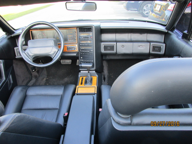 Picture of 1992 Cadillac Allante FWD, interior, gallery_worthy