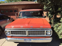 1970 Ford F-100 Picture Gallery