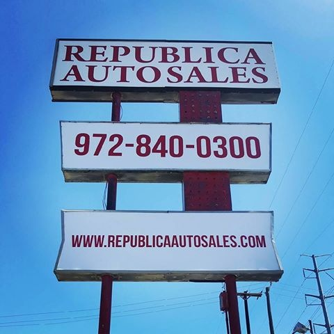 republica auto sales garland tx read consumer reviews browse used and new cars for sale. Black Bedroom Furniture Sets. Home Design Ideas