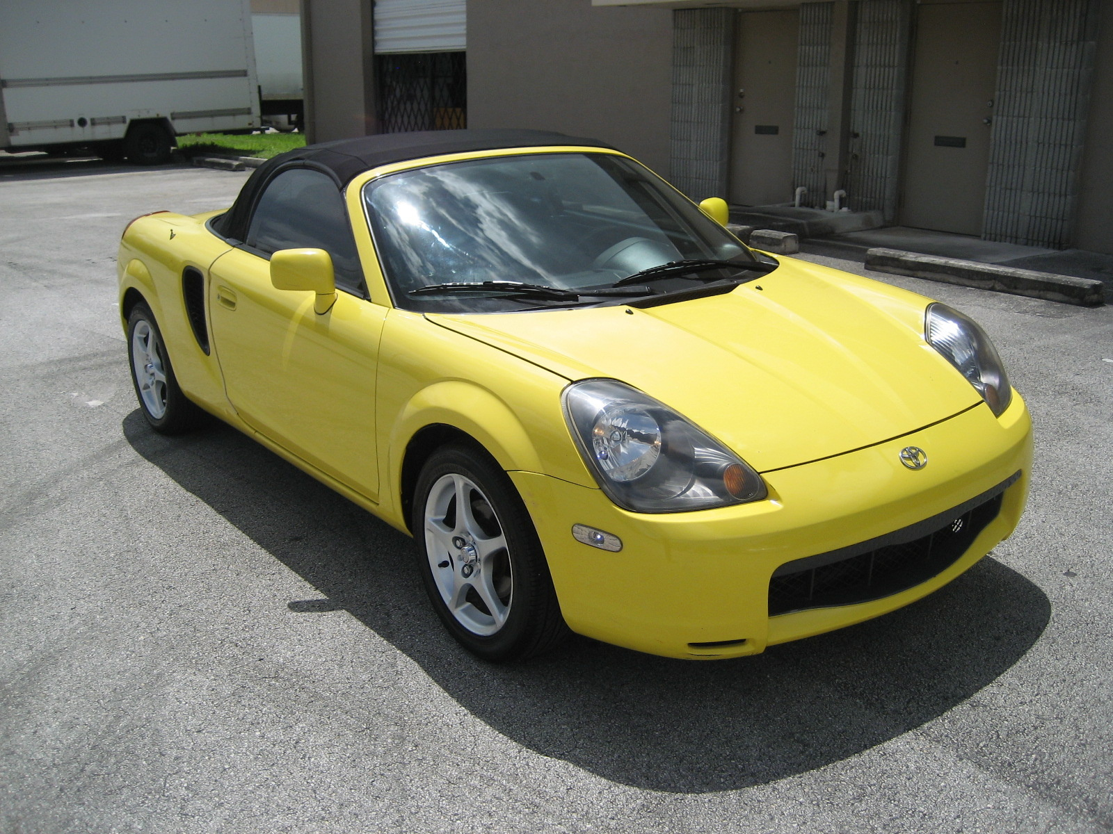 2001 Toyota Mr2 Spyder Overview Cargurus