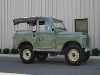 1967 Land Rover Series IIA Overview
