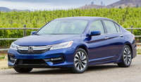 2017 Honda Accord Hybrid, Front-quarter view, exterior, manufacturer, gallery_worthy