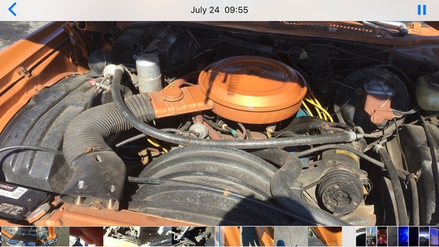 Picture of 1977 Chevrolet Monte Carlo, engine, gallery_worthy